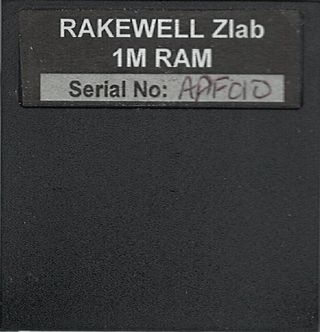 1M Low Power RAM card